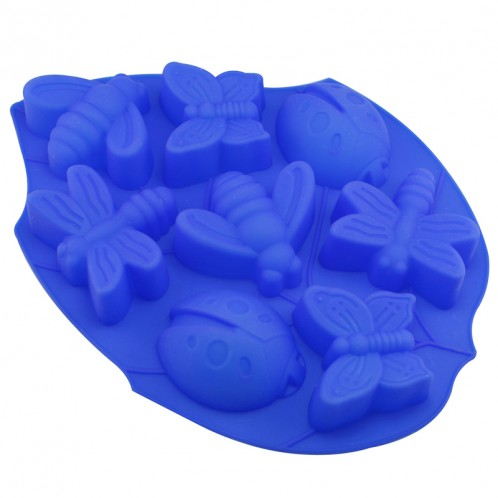Insect Cake Chocolate Candy Clay and Soap Mold