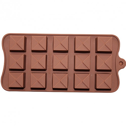 Square Triangle Chocolate Candy Mold