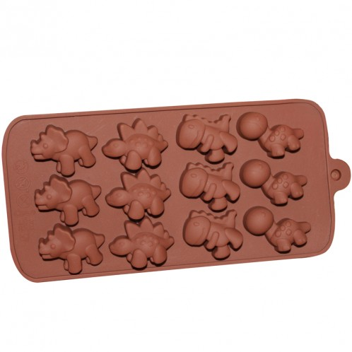 Dinosaur Chocolate Candy and Soap Mold