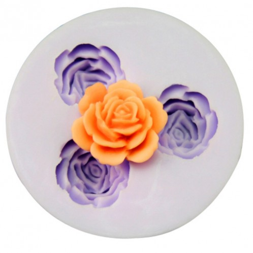 Full Flower Mini Chocolate Candy and Clay Mold