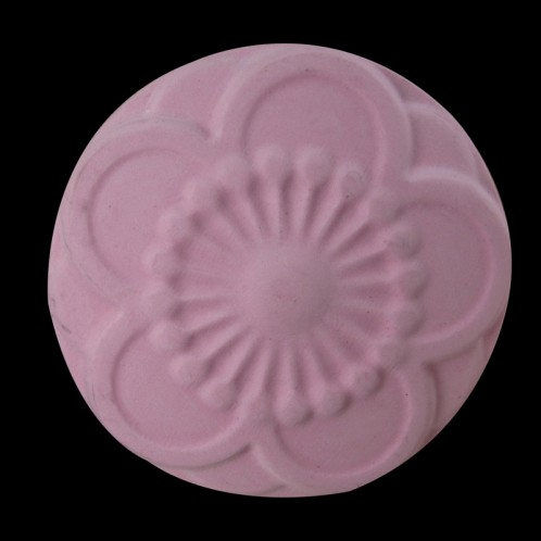 5 Petal Flower Burst Circle Soap Mold