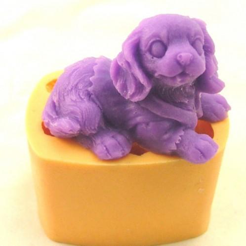 3D Cockier Spaniel Silicone Soap Mold