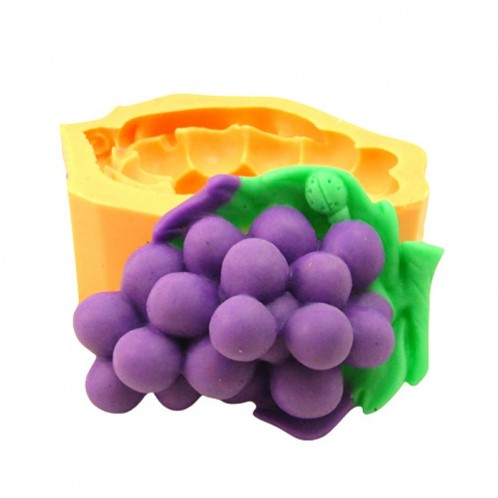 Bunch of Grapes Silicone Soap Mold