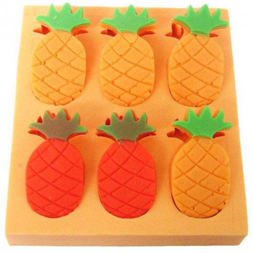 Pineapple Silicone Chocolate Candy or Soap Mold