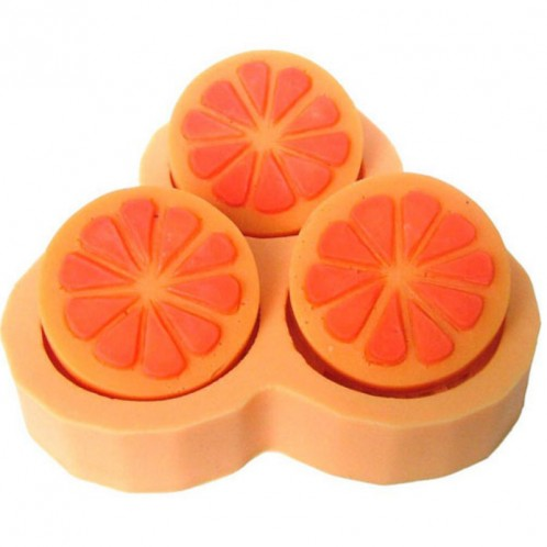 Orange Halves Silicone Chooclate Candy or Soap Mold