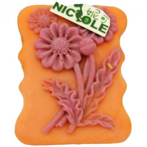Sunflower Silicone Soap Bar Mold