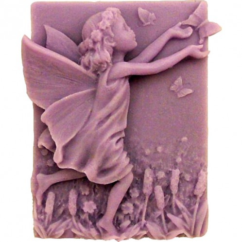 Young Running Fairy Soap Bar Mold