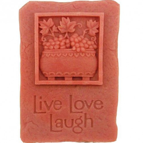 Live Love Laugh Silicone Soap Bar Mold