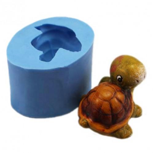 Cute 3D Turtle Silicone Soap Mold