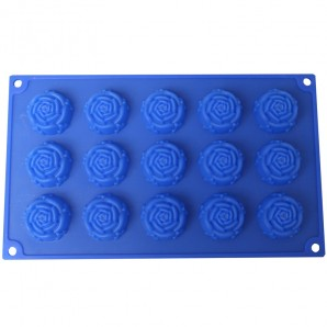15 Roses Chocolate Candy and Soap Mold