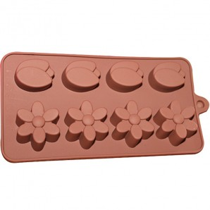 Flower and Tulip Chocolate Candy and Soap Mold