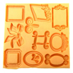Frame Border Fondant Baking and Chocolate Mold