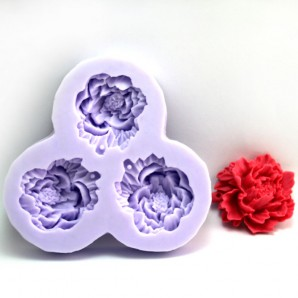 Flowy Mini Flower Candy Chocolate and Clay Mold