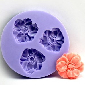 Delicate Flower Ball Mini Chocolate Cake Candy Mold