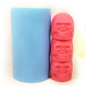 3D Totem Pole Soap or Candle Mold